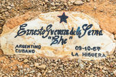 Original Grave of Ernesto Che Guevara — Stock Photo