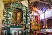 Santa Ana Church Altar — Stock Photo