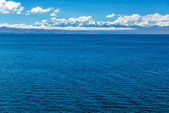 Andes and Lake Titicaca — Stock Photo