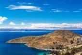 喀喀湖景观 — 图库照片