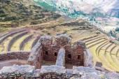 Incan Ruins and Terraces — Fotografia Stock