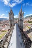 Quito Basilica Vertical — Stock Photo