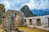 Intricate Stonework at Machu Picchu — Stock Photo