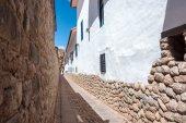Narrow Alley in Cuzco — Stock Photo