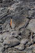 Dry Lava Flow — Stock Photo
