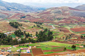 Farmlands in Peru — Stock Photo