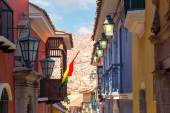 Jaen Street in La Paz, Bolivia — Φωτογραφία Αρχείου