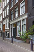 Traditional Dutch houses. (Amsterdam, Netherlands) — Stockfoto