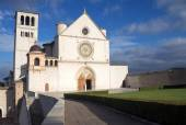 The Papal Basilica of St. Francis of Assisi  — Stok fotoğraf