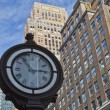 Street clock at the Manhattan. — Stock Photo #58358883
