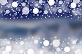 Winter background with blurred patterns  — Stock Photo