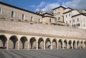 San Francesco Square in Assisi — Stock Photo