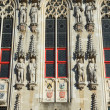 Closeup view at the Town Hall in Bruges  — Stock Photo #59722173