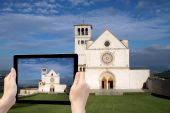 Travel to Assisi concept — Stock Photo