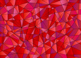 Abstract geometric pattern in red, violet and pink color — Stock Photo