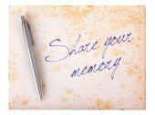 Eski kağıt grunge arka plan - hafıza pay — Stok fotoğraf