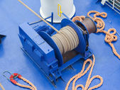 Anchor winches — Stock Photo