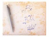 Starý papír grunge pozadí — Stock fotografie