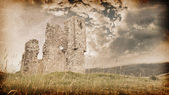 Ruins of an old castle — Stock Photo