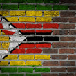 Dark brick wall - Zimbabwe — Stock Photo #53433017