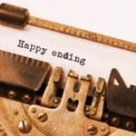 Vintage typewriter — Stock Photo #54820597