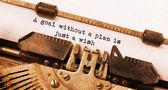 Vintage typewriter — Stock Photo