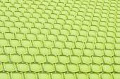 Asiento amarillo en estadio del deporte — Foto de Stock