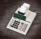 Stará kalkulačka - eura — Stock fotografie