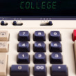 Old calculator - college — Stock Photo #69513235