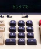 Old calculator - buy — Zdjęcie stockowe