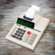 Old calculator - college — Stock Photo #71479841