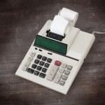 Old calculator - college — Stock Photo #73257581