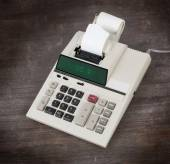 Old calculator showing a percentage - 30 percent — Stock Photo
