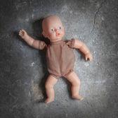 Abandoned doll — Stock Photo