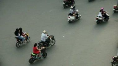 Traffic in Hanoi — Stock Video