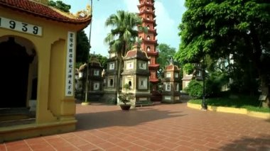 Tran Quoc Pagoda — Stock Video
