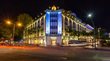 Rex Hotel in Ho Chi Minh City in Vietnam — ストックビデオ