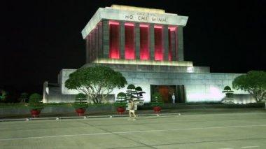 Ho Chi Minh Mausoleum — Stock Video