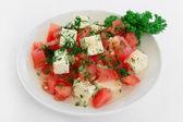 Ensalada deliciosa dieta vegetariana — Foto de Stock