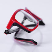 Optical red glasses — Stock Photo