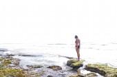 žena u moře — Stock fotografie