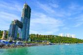 Lambaleehai harbor Pattaya City — Stock Photo