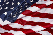 United States Of America Red White Blue Flag — Stock Photo