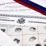US Citizenship Documents — Stock Photo #75306089