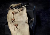 Farrier Tools with Chaps — Stock Photo