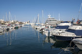 Sport port of Santa Pola — Stock Photo