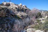 Granite boulders in Hueco de San Blas — Stock Photo