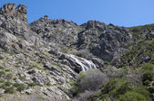 Litueros Waterfall — Stock Photo