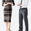 Business people applauding — Stock Photo #76130785