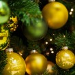 frammento di un albero di Natale — Foto Stock #76134019